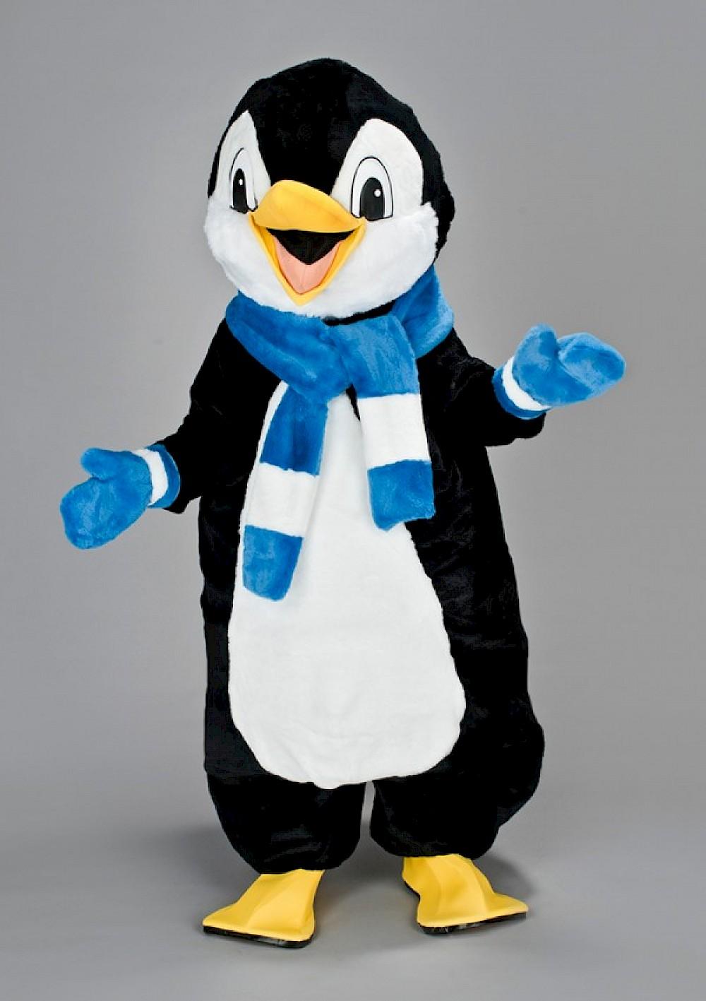 Location mascotte pingouin écharpe (2)